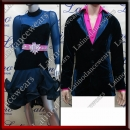 LATIN SALSA COMPETITION FOR COUPLE DRESS-SHIRT LDW (LT922A/B258A)