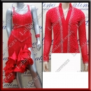 LATIN SALSA COMPETITION FOR COUPLE DRESS-SHIRT LDW (VL468/B232D)