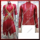 LATIN SALSA COMPETITION FOR COUPLE DRESS-SHIRT LDW (VL475/B274)