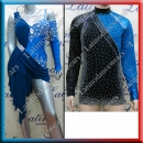 LATIN SALSA COMPETITION FOR COUPLE DRESS-SHIRT LDW (LT857/B288B)