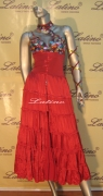 LATIN SALSA COMPETITION DRESS LDW (396LT) only on sale on latinodancewears.com