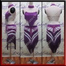 LATIN SALSA COMPETITION DRESS LDW (LS329A)