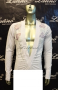 MAN LATIN SALSA SHIRT LDW SIZE M (BS16)
