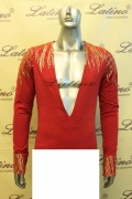 MAN LATIN SALSA SHIRT LDW SIZE M (BS40)