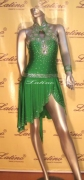 LATIN SALSA COMPETITION DRESS LDW (D162LT) only on sale on latinodancewears.com