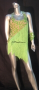 LATIN SALSA COMPETITION DRESS LDW (E146LT) only on sale on latinodancewears.com