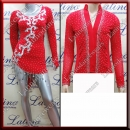 LATIN SALSA COMPETITION FOR COUPLE DRESS-SHIRT LDW (LS121A/B232B)