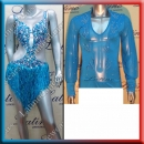 LATIN SALSA COMPETITION FOR COUPLE DRESS-SHIRT LDW (LT853A/B61A)