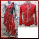 LATIN SALSA COMPETITION FOR COUPLE DRESS-SHIRT LDW (LT902/B338)