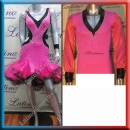 LATIN SALSA COMPETITION FOR COUPLE DRESS-SHIRT LDW (VL474/B33H)