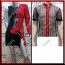LATIN SALSA COMPETITION FOR COUPLE DRESS-SHIRT LDW (LT954A/B255)