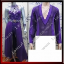 LATIN SALSA COMPETITION FOR COUPLE DRESS-SHIRT LDW (VL510/B179A)