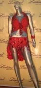 LATIN SALSA COMPETITION DRESS LDW (A196LT) only on sale on latinodancewears.com