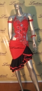 LATIN SALSA COMPETITION DRESS LDW (B232LT) only on sale on latinodancewears.com