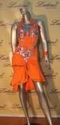 LATIN SALSA COMPETITION DRESS LDW (285LT) only on sale on latinodancewears.com