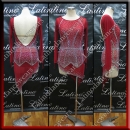 LATIN SALSA COMPETITION DRESS LDW (VL555)