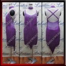 LATIN SALSA COMPETITION DRESS LDW (VL556)