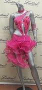 LATIN SALSA COMPETITION DRESS LDW (LT500) only on sale on latinodancewears.com