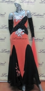 BALLROOM COMPETITION DRESS LDW (SS1A) only on sale on latinodancewears.com