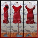LATIN SALSA COMPETITION DRESS LDW (LT1122)