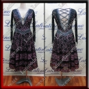 LATIN SALSA COMPETITION DRESS LDW (LT1129)