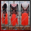 LATIN SALSA COMPETITION DRESS LDW (VL558)