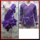 LATIN SALSA COMPETITION FOR COUPLE DRESS-SHIRT LDW (AL57/B323A)