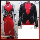 LATIN SALSA COMPETITION FOR COUPLE DRESS-SHIRT LDW (VL489A/B346)