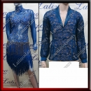 LATIN SALSA COMPETITION FOR COUPLE DRESS-SHIRT LDW (LT881A/BA10A)