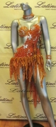 LATIN SALSA COMPETITION DRESS LDW (LS39) only on sale on latinodancewears.com