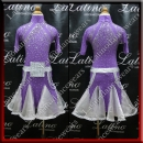 JUNIOR LATIN SALSA COMPETITION DRESS LDW (LK34)