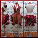 LATIN SALSA COMPETITION DRESS LDW (AL56A)