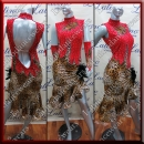 LATIN SALSA COMPETITION DRESS LDW (LS187C)