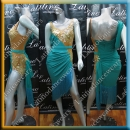 LATIN SALSA COMPETITION DRESS LDW (LT1074D)