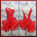 JUNIOR LATIN SALSA COMPETITION DRESS LDW (LK35)