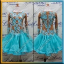 JUNIOR LATIN SALSA COMPETITION DRESS LDW (LK36)