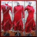 LATIN SALSA COMPETITION DRESS LDW (AL66)