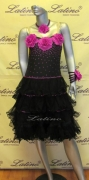 LATIN SALSA COMPETITION DRESS LDW (LT517) only on sale on latinodancewears.com
