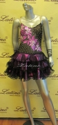 LATIN SALSA COMPETITION DRESS LDW SIZE M (LT528)