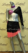 LATIN SALSA COMPETITION DRESS LDW SIZE M (LT605)