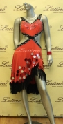LATIN SALSA COMPETITION DRESS LDW SIZE M (LT610)