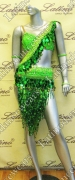 LATIN SALSA COMPETITION DRESS LDW SIZE M (LT700)