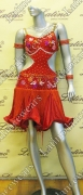 LATIN SALSA COMPETITION DRESS LDW SIZE M (LT703)