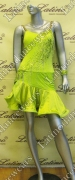 LATIN SALSA COMPETITION DRESS LDW SIZE M (LT704)
