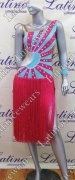 LATIN SALSA COMPETITION DRESS LDW SIZE M (LT718)