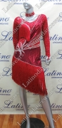LATIN SALSA COMPETITION DRESS LDW SIZE M (VL450)