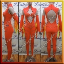 LATIN SALSA COMPETITION CATSUIT LDW (LT1145)