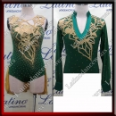 LATIN SALSA COMPETITION FOR COUPLE DRESS-SHIRT LDW (AL67/BA18)