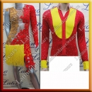 LATIN SALSA COMPETITION FOR COUPLE DRESS-SHIRT LDW (LT954/B172B)