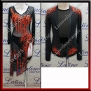 LATIN SALSA COMPETITION FOR COUPLE DRESS-SHIRT LDW (LT1132/B353)